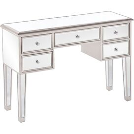 Marsala Mirrored Console Table