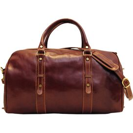 Venezia Leather Duffel