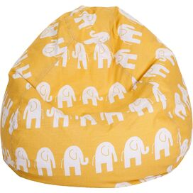 Ellie Kids Beanbag in Yellow