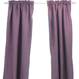 Lilly Curtain Panel in Lavender