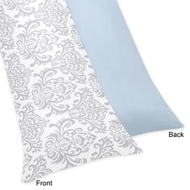 Cotton Body Pillowcase in Blue