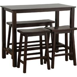 4-Piece Parson Pub Table Set