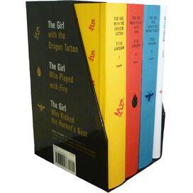 Millennium Trilogy Box Set, Stieg Larsson