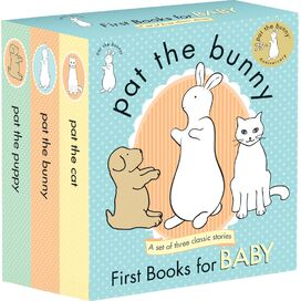 Pat the Bunny Board Book Set, Dorothy Kunhardt