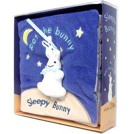 Sleepy Bunny Cloth Book