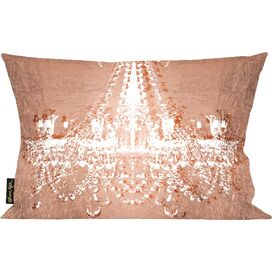 Dramatic Entrance Rose Pillow, Oliver Gal