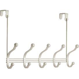 Over-Door Double Hook Rack