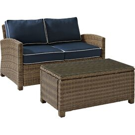2-Piece Biltmore Patio Seating Group in Navy