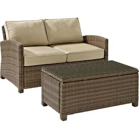 2-Piece Biltmore Patio Seating Group in Sand