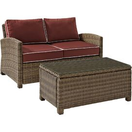 2-Piece Biltmore Patio Seating Group in Sangria
