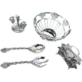 Silver-Plated Serveware Set