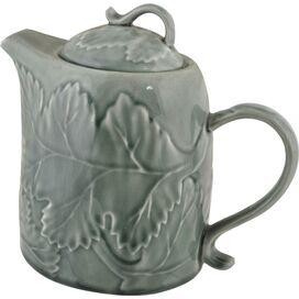 Fallen Leaf Porcelain Teapot