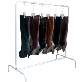 Fiona 10-Pair Boot Rack Set in White