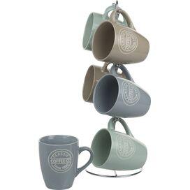 Classic Coffee Co. Mug & Stand Set