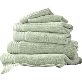 Egyptian Cotton Towel Set in Soft Jade