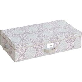 Damask Under-Bed Storage Box