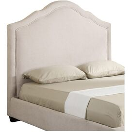 Lillian Upholstered Headboard in Vanilla