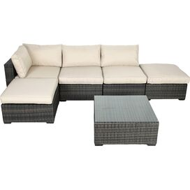6-Piece Hayley Patio Seating Group