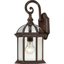 Rexler Outdoor Wall Lantern in Rustic Bronze