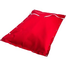 Sofia Floating Bean Bag in Red