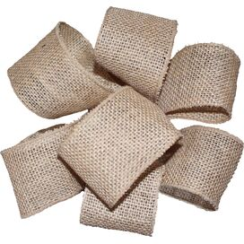 Burlap Ribbon in Natural