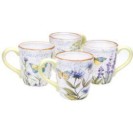 Herb Garden Mug (Set of 4)