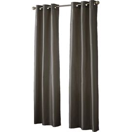 Charlotte Blackout Curtain Panel in Chocolate