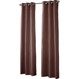 Charlotte Blackout Curtain Panel in Ruby