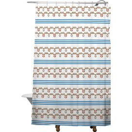 Anchor Small Shower Curtain