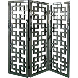Honora Mirrored Room Divider