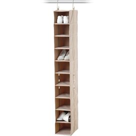 10-Shelf Hanging Closet Organizer