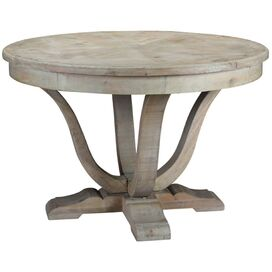 Miles Dining Table in Gray Wash