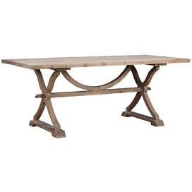 Albridge Dining Table in Natural Wax