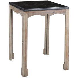 Amsler Side Table in Gray Wash