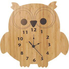 Olivia Bamboo Wall Clock
