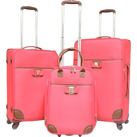 3-Piece Paradise Rolling Luggage Set