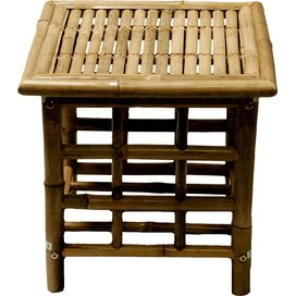 Clive Bamboo Side Table