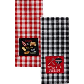 Get Grillin' Kitchen Towels (Set of 2)