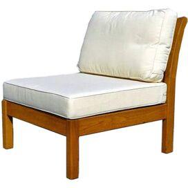 Kamea Patio Accent Chair in Vanilla