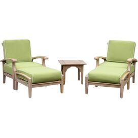 5-Piece Monterey Teak Chaise Seating Group