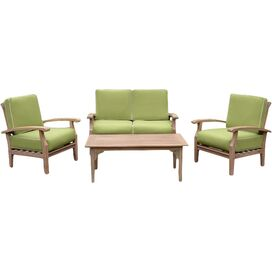 4-Piece Montery Teak Seating Group