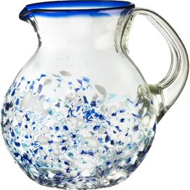 Ibiza 2.5-Quart Recycled Glass Pitcher