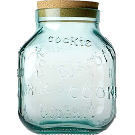 Cookie Recycled Glass Jar
