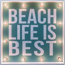 Beach Life Marquee Sign