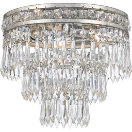 Meredith Flush Mount in Olde Silver