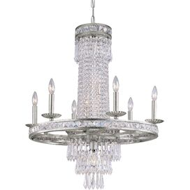 Meredith Chandelier in Olde Silver