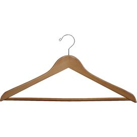 Wood Suit Hanger in Natural Lacquer (Set of 50)