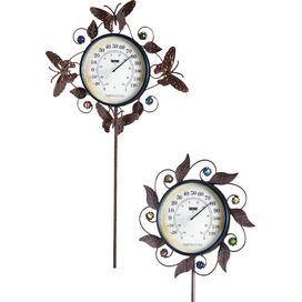 Flora Garden Thermometer