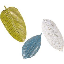 3-Piece Leaf Wall Decor Set