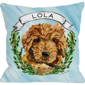 Personalized Doodle Pillow